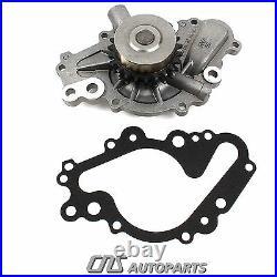 02+05 Chrysler Dodge 2.7L 167ci V6 Timing Chain Gear Kit + Water & Oil Pump EER