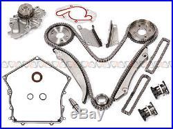 02-06 Chrysler 300 Dodge 2.7L Timing Chain Water Pump Tensioner Kit+Cover Gasket