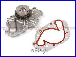 02-06 Chrysler Dodge 2.7L Timing Chain Water&Oil Pump Tensioner Kit+Cover Gasket