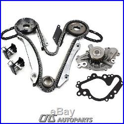 02-07 Chrysler Dodge 2.7l 2700 167 V6 Engine Timing Chain Kit + Water Pump Eer