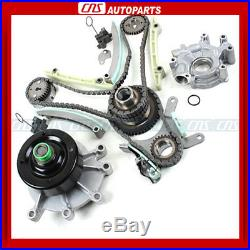 02-08 DODGE JEEP 4.7L SOHC TIMING CHAIN KIT+WATER PUMP withOIL PUMP with GEARS NGC