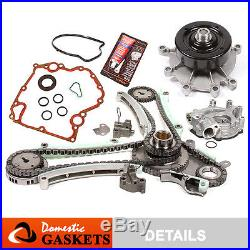 03-08 Dodge Jeep 4.7L Timing Chain Oil Pump Water Pump Kit+Cover Gasket Set NGC
