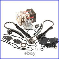 04-08 Ford F150 Lincoln 5.4L 3V Timing Chain HP-Oil Pump Water Pump+Cover Gasket