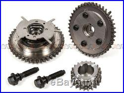 04-08 Ford F150 Lincoln 5.4L 3V Timing Chain Water Pump Kit+Cam Phasers+Solenoid