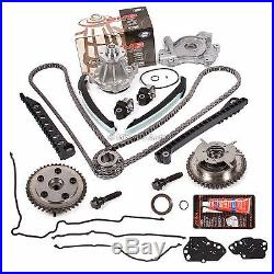 04-08 Ford Lincoln 5.4 TRITON 3-Valve Timing Chain Kit Cam Phaser Oil Water Pump