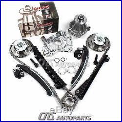 04-08 Ford Lincoln 5.4 TRITON 3-Valve Timing Chain Kit Cam Phaser Water Oil Pump