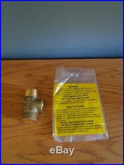 1.25 x 4 Tank Tee Install KIT Water Well Pressure Tank Pump Square D fsg 2 3050