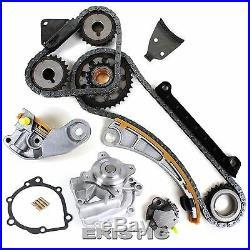 1.8L 2.0L 2.3L Suzuki Timing Chain Gear Water Pump Kit G18K J18A J20A J23A Chevy