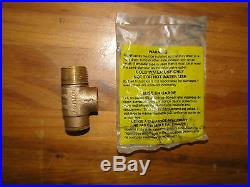 1 x 11 PRESSURE TANK TEE KIT + VALVES Water Well SQUARE D 30 50 FSG2 NO LEAD