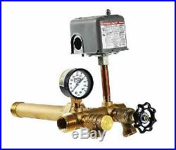 1 x 11 Tank Tee with UNION Kit Installation Water Well Pressure Tank