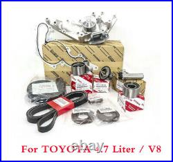 14PCE Timing Belt Kit & Water Pump For TOYOTA Tundra 4Runner Water Pump 4.7L V8