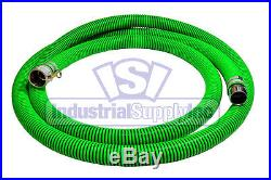 2 EPDM Trash Pump Water Suction FCAM x MP with50' Discharge Hose Kit