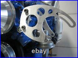 289-302 Ford Power Steering Saginaw Pump Bracket Kit Cast Iron Water Pump-