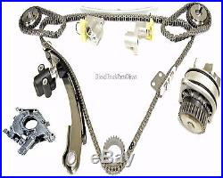 3.5L Timing Chain Kit with Water+Oil Pump Fits Nissan Quest Maxima Altima