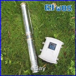 3 DC Shallow Well Solar Water Pump 24V 200W Submersible Off Grid MPPT Kits Bore