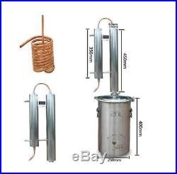 3 Gallon Alembic Copper Still Alcohol Distiller Kit