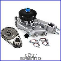 4.8L 5.3L 6.0L Timing Chain Water Pump Kit 99-04 Cadillac Chevrolet GMC OHV V8