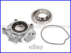 85-95 Toyota 2.4L Timing Chain Kit(2 Steel Guides)+Oil&Water Pump 22R 22RE 22REC