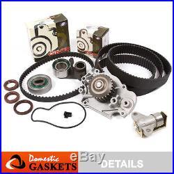 93-01 Honda Prelude 2.2L DOHC Timing Belt Water Pump Tensioner Kit H22A1 H22A4