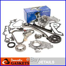 94-04 Toyota Tacoma T100 4Runner 2.7 Timing Chain Oil&AISIN Water Pump Kit 3RZFE