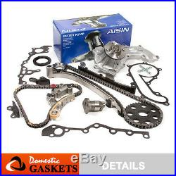 94-04 Toyota Tacoma T100 4Runner 2.7L Timing Chain AISIN Water Pump Kit 3RZFE