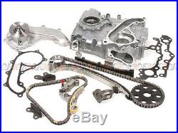 94-04 Toyota Tacoma T100 4Runner 2.7L Timing Chain&Cover Water Pump Kit 3RZFE