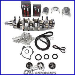 95-97 4G63T Mitsubishi Forged Crankshaft, Bearings, Timing Belt, Water Pump Kit