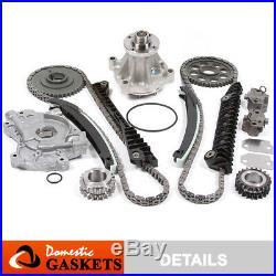 97-02 Ford F150 E150 Excursion 5.4L SOHC Timing Chain Kit Oil Pump & Water Pump