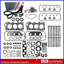 97-02 Honda Acura 3.0L Head Gasket Head Bolts Timing Belt Water Pump Kits J30A1