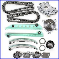 98-04 4.6L Ford Timing Chain Water & Oil Pump Kit witho Cam Gears SOHC V8 F-150