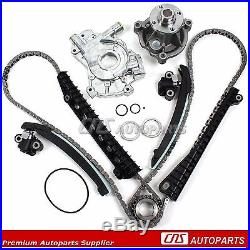 98-06 FORD V8 SOHC 5.4L 16V Timing Chain Water Pump & Oil Pump Kit WithO Cam Gears