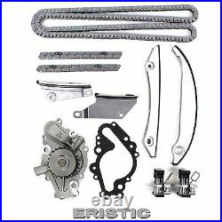 98-07 Chrysler Dodge 2.7L 167 V6 Engine Timing Chain Kit (witho Gears)+ Water Pump