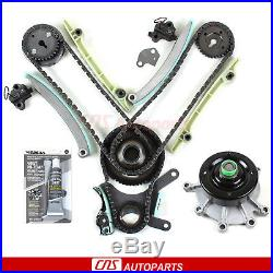 99-04 DODGE JEEP 4.7L SOHC TIMING CHAIN KIT + WATER PUMP with GEARS JTEC