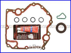 99-04 Jeep Dodge 4.7L Timing Chain Water Pump Kit+Timing Cover Gasket Set JTEC