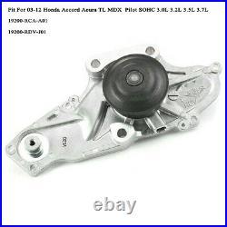 9IN1 Genuine OEM Timing Belt & Water Pump Kit For HONDA/ACURA Accord Odyssey V6