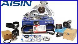 AISIN JAPAN OE Premium Water Pump Timing Belt Thermostat Tensioner Kit TKT021C