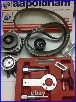 Alfa Romeo 147 156 159 1.9 Jtdm 16v 05-11 Timing Belt Kit Water Pump & Tool Kit