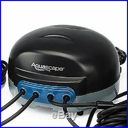 Aquascape 75001 Pond Water Aerator Air Pump 4 Outlet Circualation System Kit