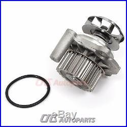 Audi VW Beetle Golf Jetta 1.8T Timing Belt Water Pump Kit 1.8 20V metal impeller