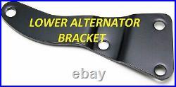 BB Chevy BBC Complete LWP Steel Pulley Kit WithAlternator Power Steering 396-454