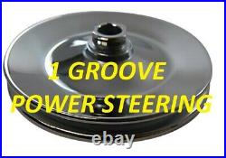 BB Chevy Steel Pulley Kit Power Steering NEW 396 427 454 BBC Complete LWP