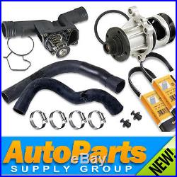 BMW E36/M44 Cooling Kit Water Pump, Thermostat, Radiator Hoses, Belts, Gaskets