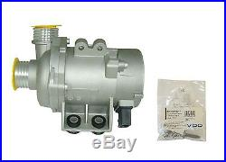 BMW Electric Engine Water Pump & Bolt kit NEW 11517586925