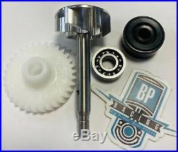 Banshee Impeller Water Pump Billet Gear Bearing Seal Complete Rebuild Kit Shaft