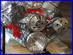 Bbc Chevy 454 496 Engine Dress Up Kit, Front Acc. Inc. Wp, Alt, Pulleys, Etc