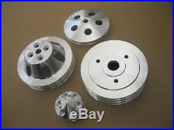 Big Block Chevy SWP Crankshaft Alternator Power Steering Water Pump Pulley Kit