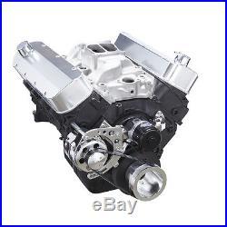 Big Block Chevy Serpentine Pulley Kit 396 454 BBC Electric Water Pump Alternator