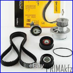 CONTI CT873 Zahnriemen + Rollensatz + Wasserpumpe Opel 1.4i 16V 1.6i 16V 1.6 GSI