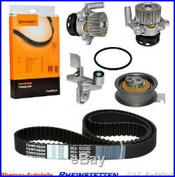 CONTI Zahnriemen+2xSpann/Umlenkrolle+Wasserpumpe AUDI A4 A6 VW PASSAT 1.8 T Mot