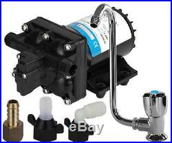 Caravan Water Pump and Tap Suits Drifta Kitchens as well / Pump / Faucet Kit